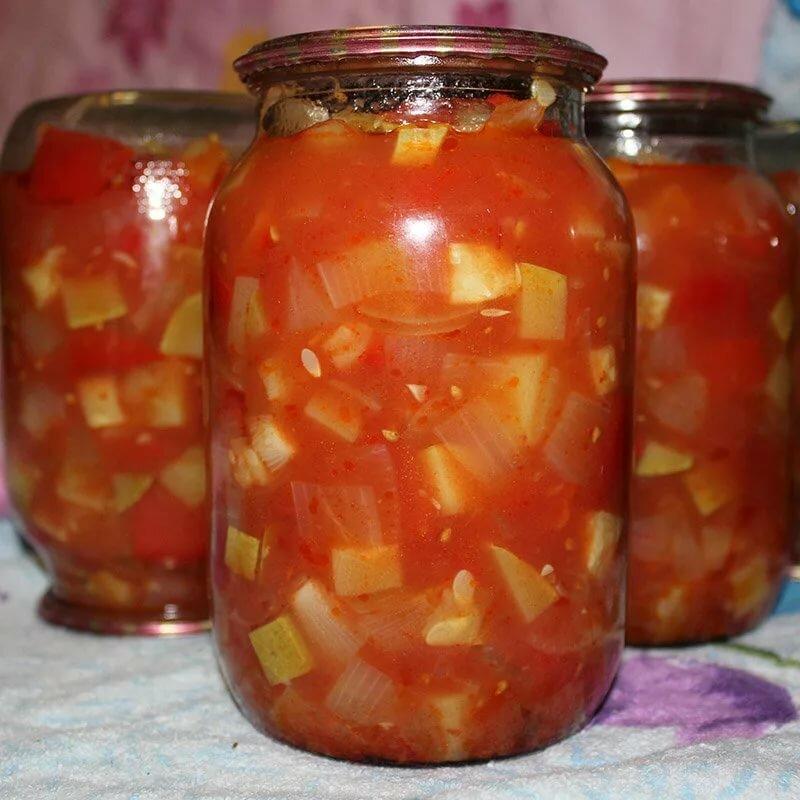 Салат «Анкл Бенс» из кабачков на зиму